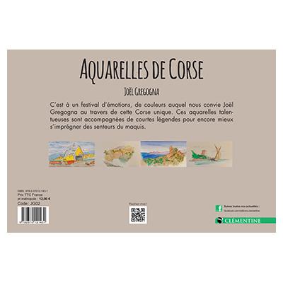Aquarelles de Corse - Joël GREGOGNA verso