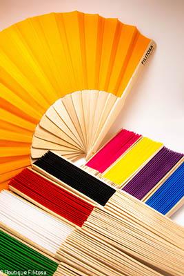 Les Éventails en bois de couleurs Filitosa