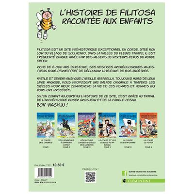 L'histoire de Filitosa racontée aux enfants - Lisa D'ORAZIO - Frédéric BERTOCCHINI - Michel ESPINOSA verso