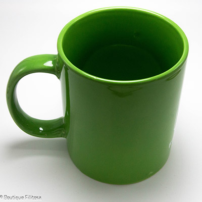 MUG vert Filitosa XIII côté haut